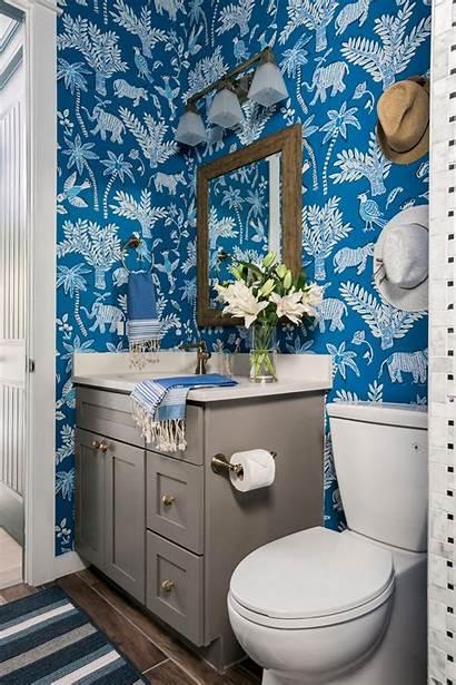 Bathroom Hgtv Toilet Decorating Vanity Rustic Pool