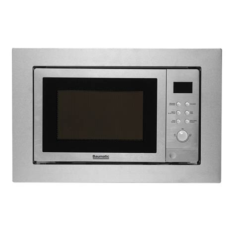 Baumatic BMC253SS Combination Built in Microwave Oven with Grill