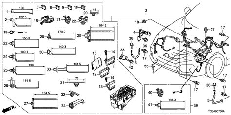 Honda Accord Type R Wiring Diagram by 32601 Tgh A00 Genuine Honda Cable Miss Ground