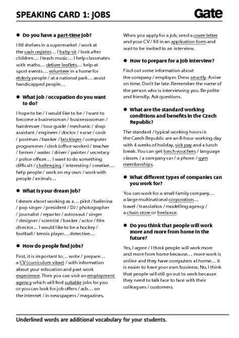 jobs  professions worksheets