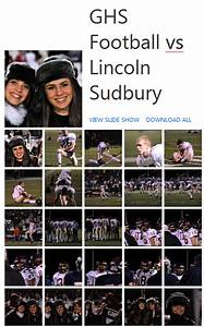 2010 GHS Football vs Lincoln Sudbury Pictures From David ...