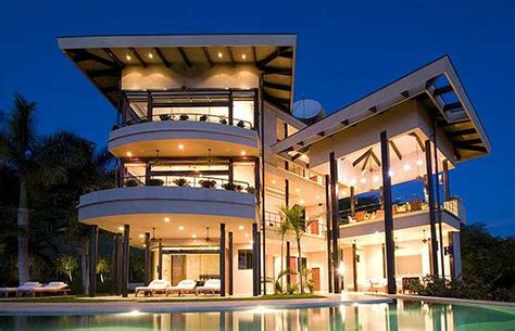 modern million dollar homes out mansions showcasing luxury houses amazing costa rica oceanfront villa in guanacaste