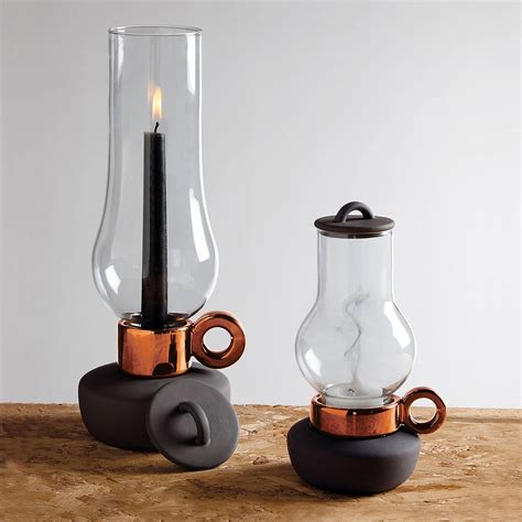 tea light or candle lantern by out there interiors