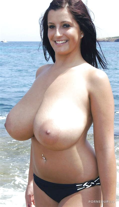 Big Boob Milf On The Beach Porned Up