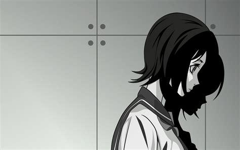 wallpaper anime girl sadness shadow wall