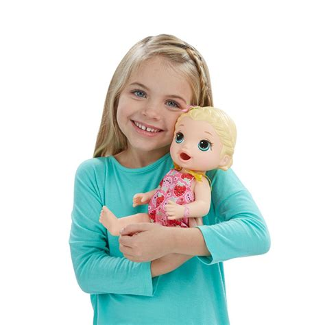Baby Alive Snackin Lily Blonde Amazonca Toys Games