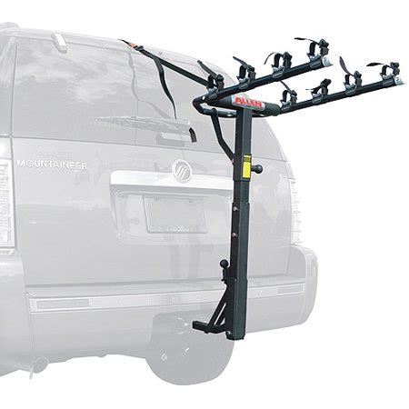 allen hitch bike rack allen 440rr deluxe hitch mounted 4 bike carrier for 1 1 4