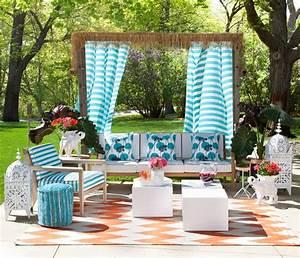 idees deco amenager une terrasse originale invitant a la With deco pour jardin exterieur 13 deco chambre blanche
