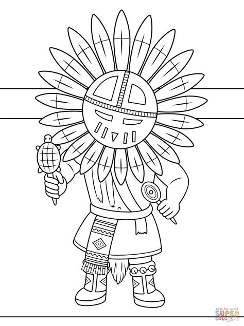 Navajo Coloring Pages at GetColorings.com | Free printable