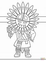 Coloring Doll India Flag Kachina Drawing Native Indian Headdress Bear Printables Printable Colorare Puppe Disegni Sheets Indians Ausdrucken Isabelle Nerf sketch template