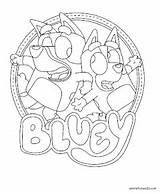Bluey Coloring Animationsa2z Printable Disney Junior Sheets Dog Cards Animation sketch template