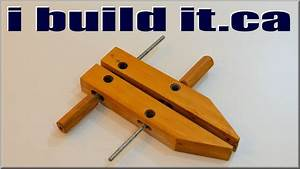 Homemade Hand Screw Clamps - YouTube