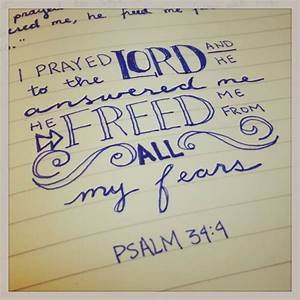 Psalm 34:4   God and quotes   Pinterest