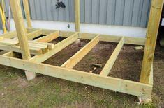 lean  shed roof attached  garage carport diy     work   patio