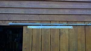 porte coulissante sur un abri de jardin 14 messages With comment faire des portes coulissantes