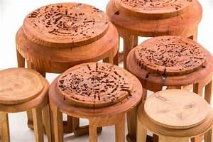 Furnitures Using Natural Materials Scope Design Studio