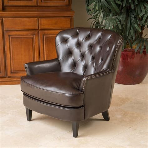 christopher chairs uk christopher home tufted club chair