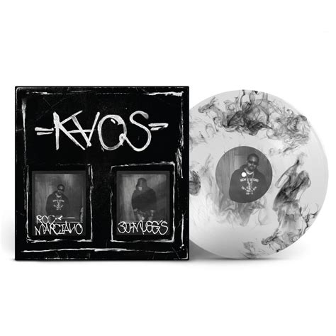 kaos limited edition 12 quot deluxe clear w black smoke vinyl soul assassins