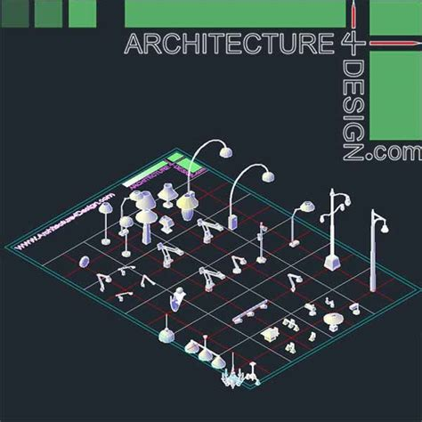 Type A Light Bulb by Autocad 3d Furniture Models Dwg File Architecture For