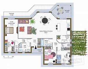 maison a ossature bois 1 detail du plan de maison a With amenagement jardin petite surface 3 maison ouverte sur le monde detail du plan de maison