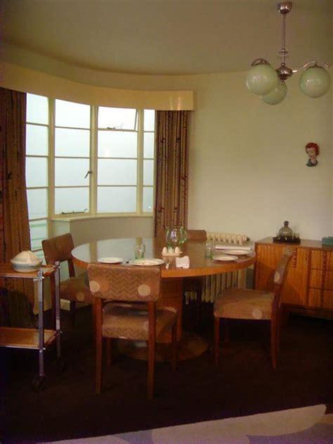 living room london art deco interior