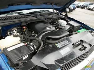 2003 Chevrolet Avalanche 1500 Z71 4x4 5 3 Liter Ohv 16v V8 Engine Photo  39409557