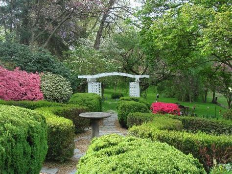 beautiful springtime garden picture of sobotta manor bed