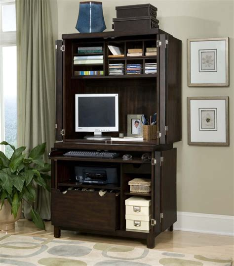 white computer desk with bookshelf furniture black stained wood hutch computer table with