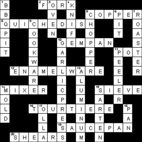 kitchen tools crossword puzzle clue besto blog