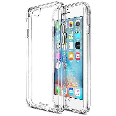 clear iphone cases trianium clear cushion for iphone 6s 6 clear