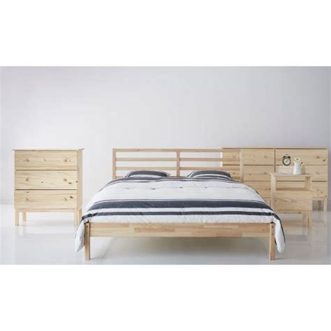 tarva bed ikea ikea tarva size bed frame solid pine wood brown