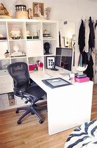 Ikea Expedit Desk in my office | Flickr - Photo Sharing!