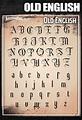 Old English Font – Tattoo Pro Stencils