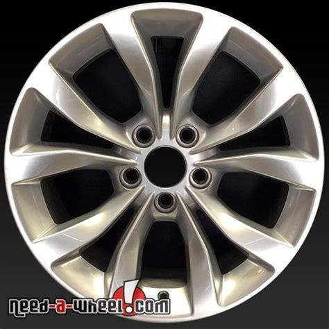 Chrysler 300 Stock Rims by 17x7 Quot Chrysler 300 Wheels Oem 2015 Silver Stock Rims 2535