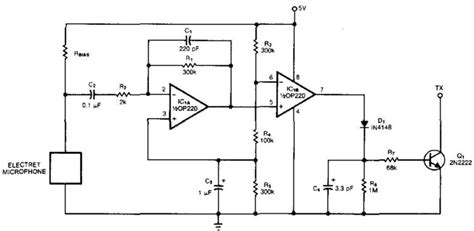 Microphone Controlled Voice Activated Switch Circuit