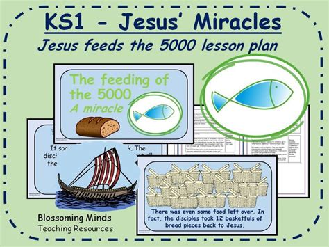 ks  plan jesus miracles jesus feeds