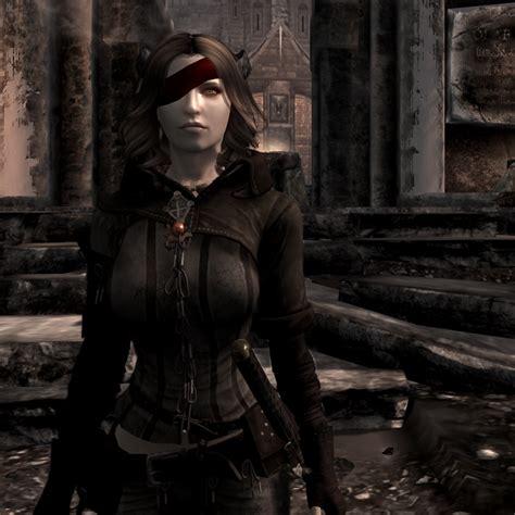 armor retextured dv at skyrim nexus mods and community lunawolf triss armor at skyrim nexus mods and community Triss