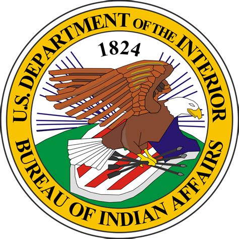 bia bureau of indian affairs file seal of the united states bureau of indian affairs