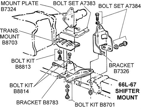 Powerglide Transmission Diagram by 1966l 67 Shifter Mount Diagram View Chicago Corvette