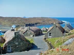 Isle of Lewis Black House Village