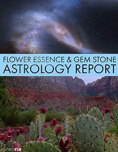 Flower Essence Gem Stone Astrology Report Astrofix