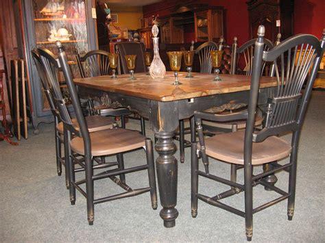 chaises de cuisine en pin meubles de salle à manger table de bois massif faites