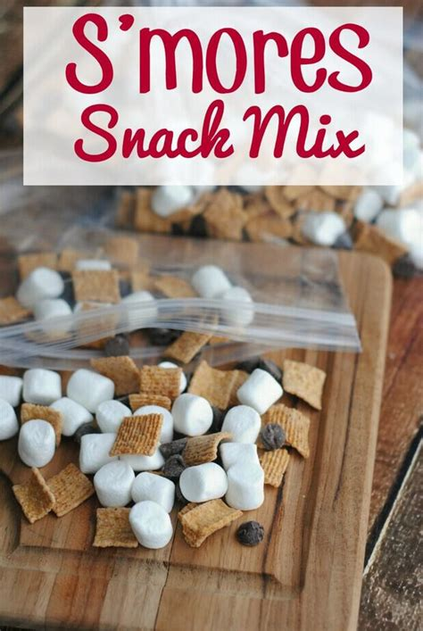 smores snack mix  video  mama loves