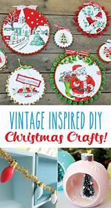 Vintage, Inspired, Diy, Christmas, Crafts