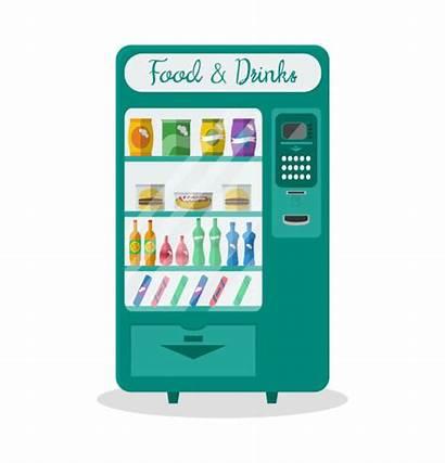 Vending Machine Snack Vector Clip Snacks Illustrations