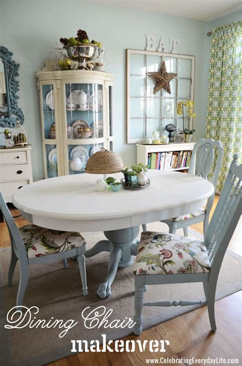 how to paint a dining room table with chalk paint how to recover a dining room chair easily celebrating
