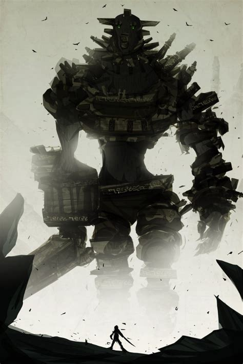 Shadow Of The Colossus By Chasingartwork On Deviantart