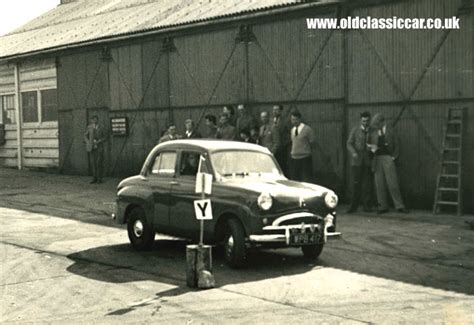 A Standard 10 Takes Part In 1950s Autotests