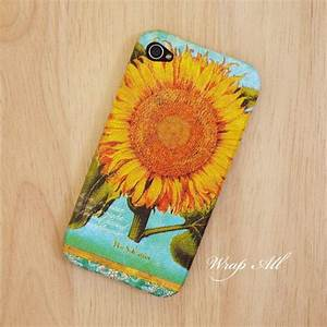 Vintage Sunflower iPhone 4 case / iPhone 4S case by ...