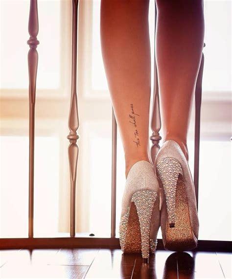 sexy ankle tattoo designs   flaunt  walk